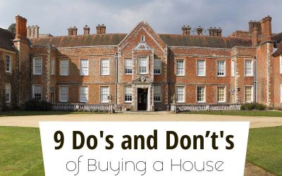 9 Do's and Don't's of Buying a House