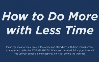 How to Do More with Less Time