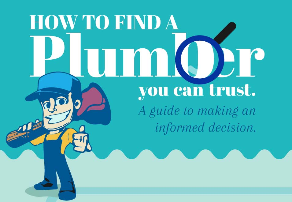 Original How To Find A Plumber You Can Trust Infographic