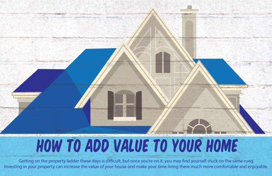How To Add Value To Your Home: Adding Value To Your Home [Infographic]