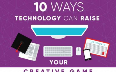 10 Ways Technology Can Raise Your Creative Game