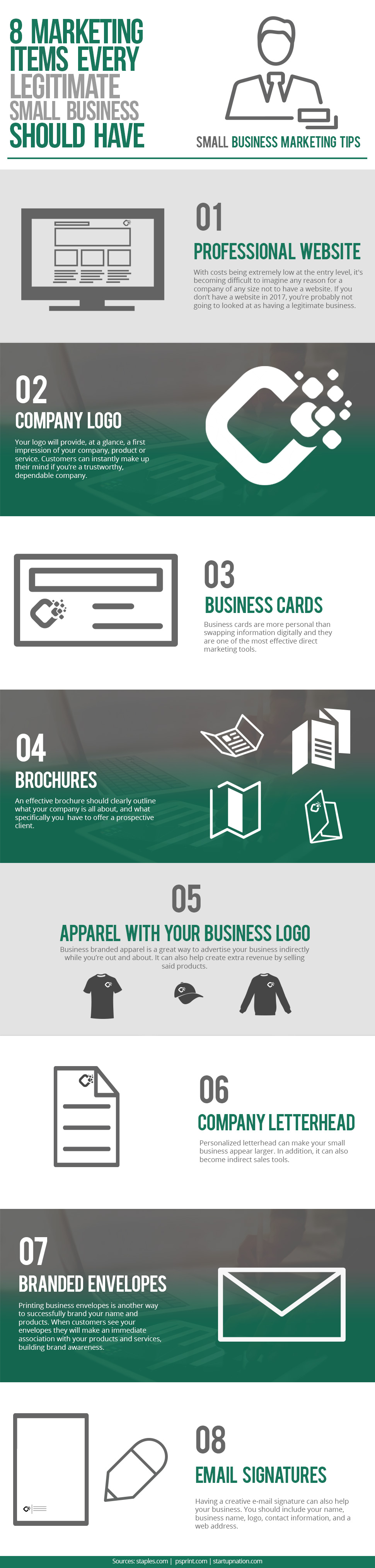 8 Items A Legitimate Small Business Must Have