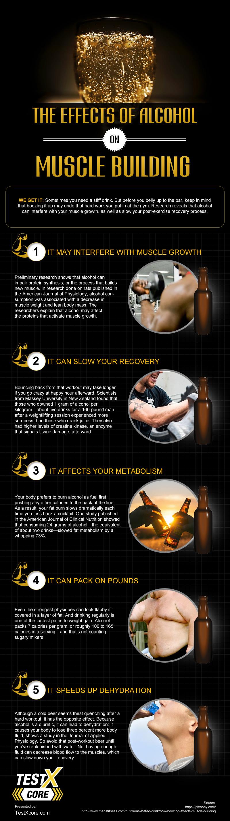 The Effects of Alcohol on Muscle Building