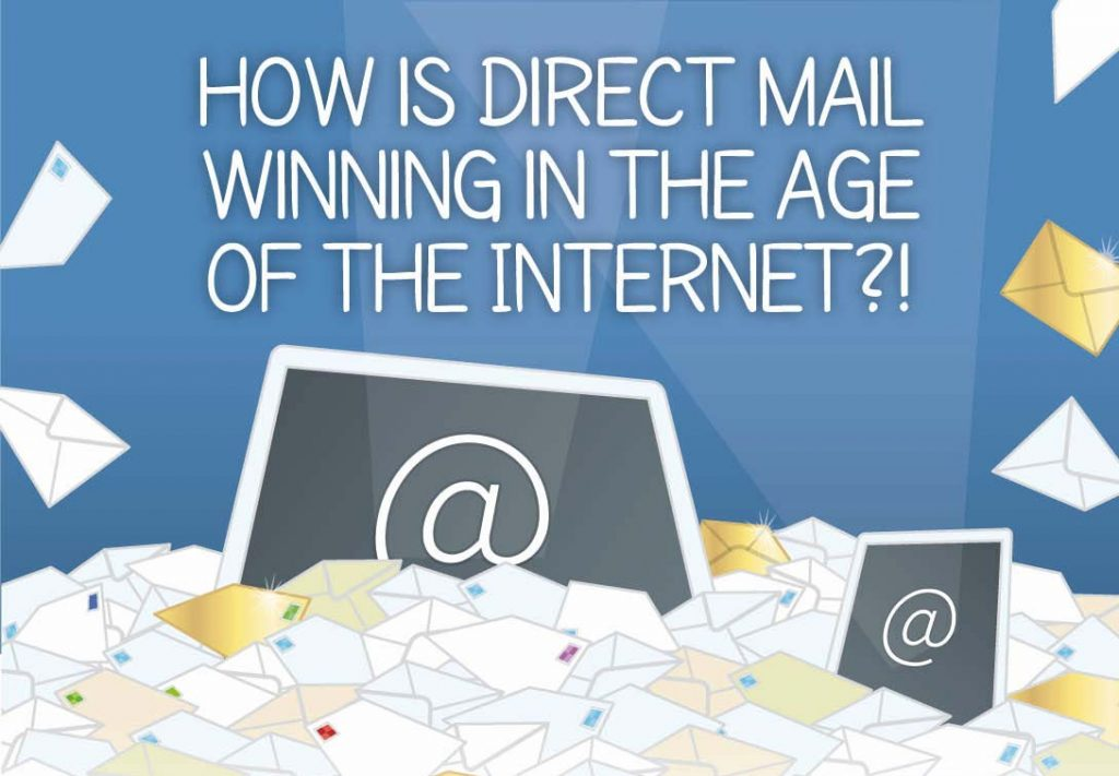 how direct mail is winning in the internet age infographic. Black Bedroom Furniture Sets. Home Design Ideas