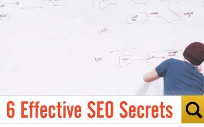 6 Effective SEO Secrets
