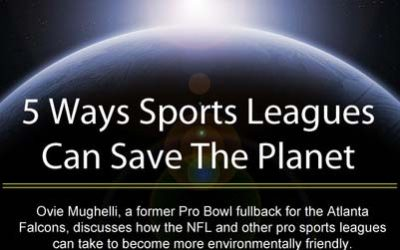 5 Ways Sports Leagues Can Save The Planet