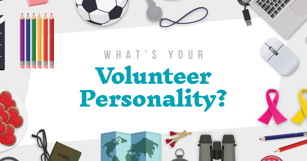 What's Your Volunteer Personality?