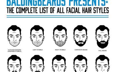 68 Facial Hair Styles for Men