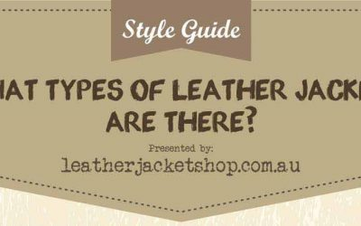 What Types of Leather Jackets Are There?