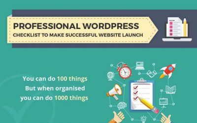 WordPress Checklist for Successful Website Launch
