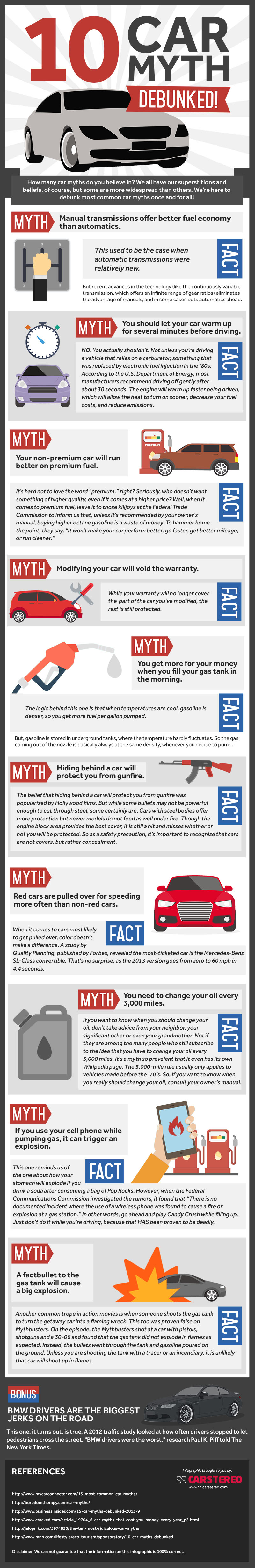 10 Car Myths Debunked!
