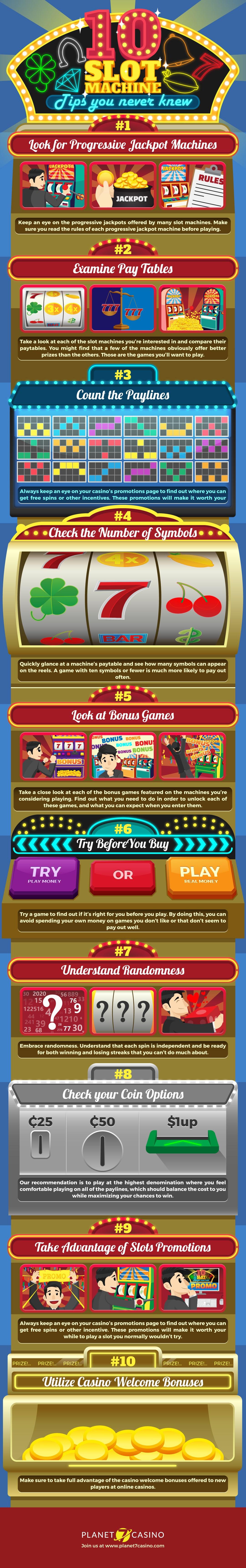 10 Slot Machine Secret Tips You Never Knew