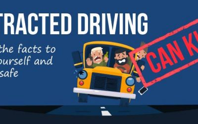 The Many Types of Distracted Driving