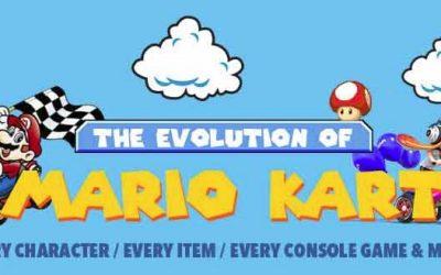 The Evolution Of Mario Kart