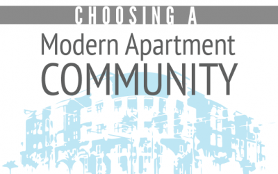 Best Tips for Choosing a Modern Apartment Community