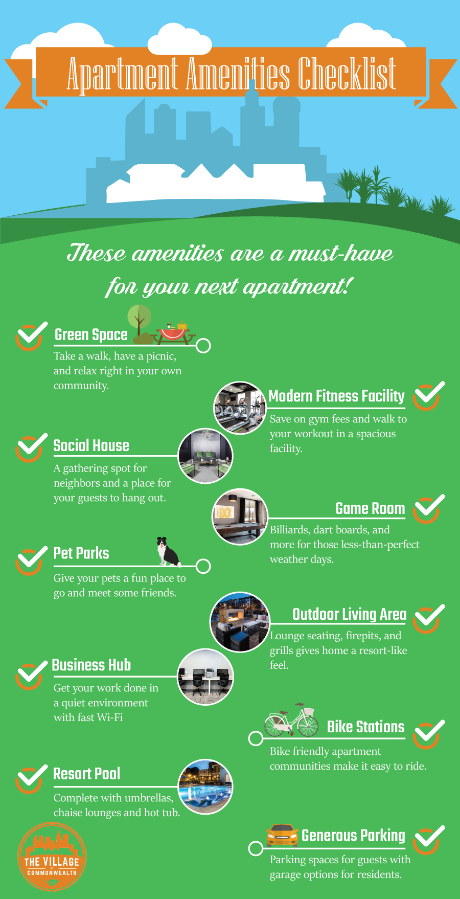 Checklist for Apartment Hunting