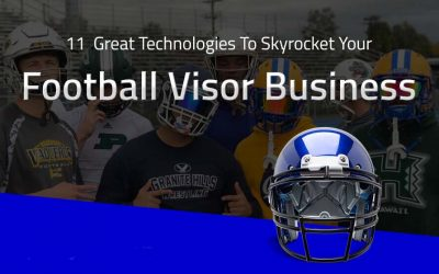 11 Great Technologies to Skyrocket Your Football Visor Business