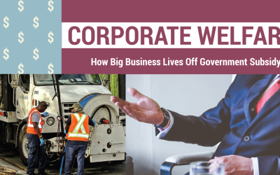 Corporate Welfare: How Big Business Lives Off Government Subsidy