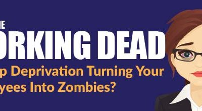 The Working Dead: Is Sleep Deprivation Turning Your Employees Into Zombies?