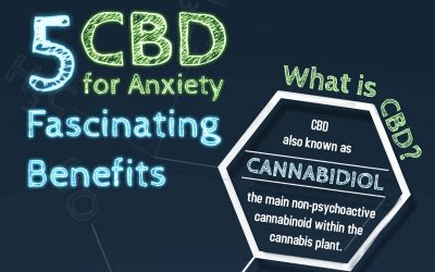 5 Fascinating Benefits of CBD for Anxiety