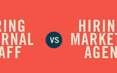 Hiring A Marketing Agency Vs. Hiring Internal Staff