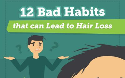12 Bad Habits That Can Lead To Hair Loss