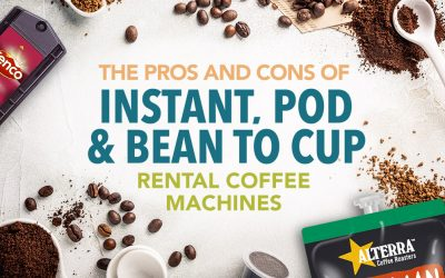 Rental Coffee Machines, What Type of Machine is Best for You?
