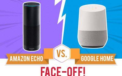Amazon Echo Vs Google Home Faceoff