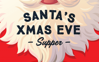 Santa's Xmas Eve Plate Of Treats