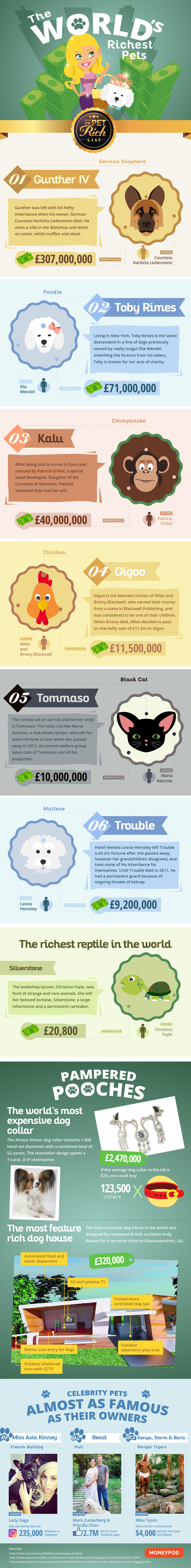 The World's Richest Pets