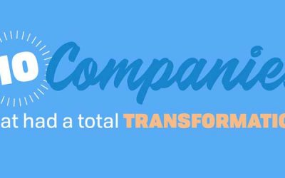 10 Companies That Had a Total Transformation