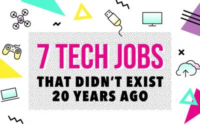 7 Tech Jobs that Didn't Exit 20 Years Ago