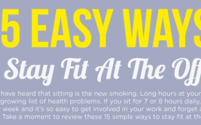 15 Easy Ways To Stay Fit At The Office