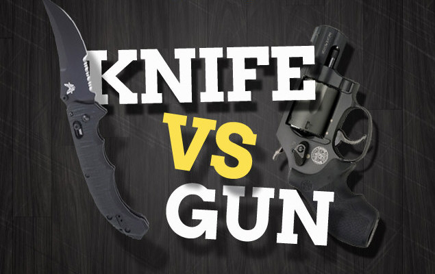 Knife VS. Gun