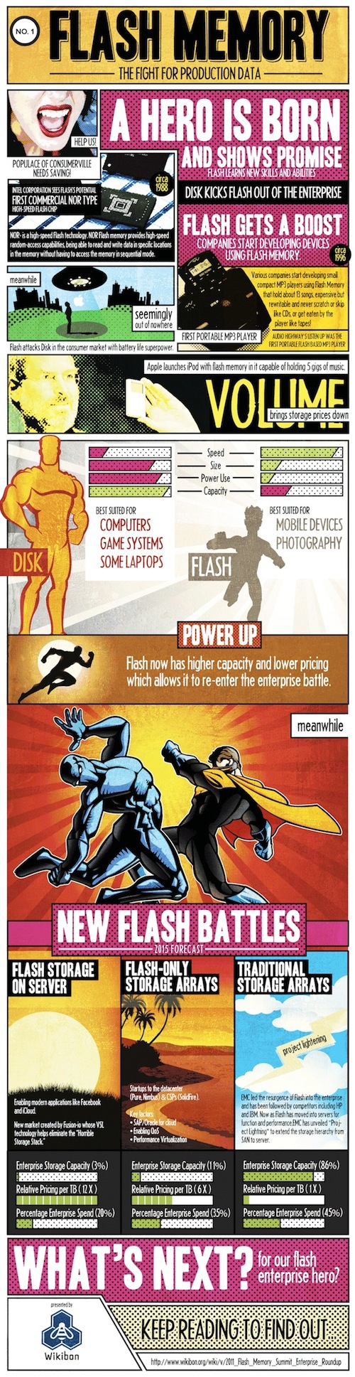 A Hero is Born: Flash Memory