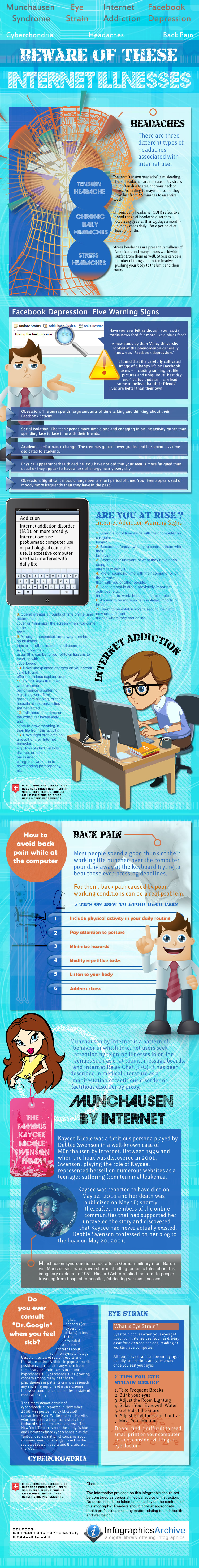 Beware of These Internet Related Illnesses