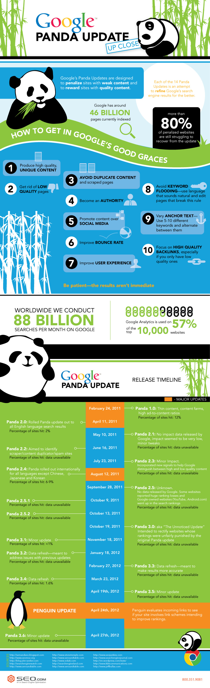 Google Panda Update Up Close