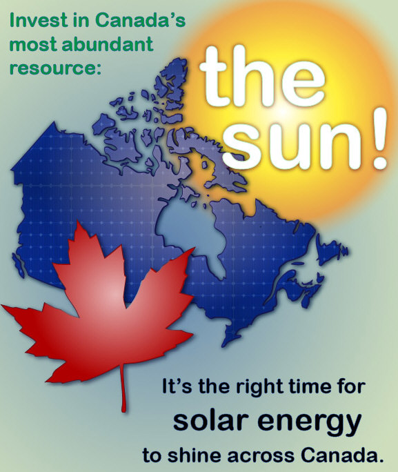 Solar Energy – Social and Economic Win Win for Canada