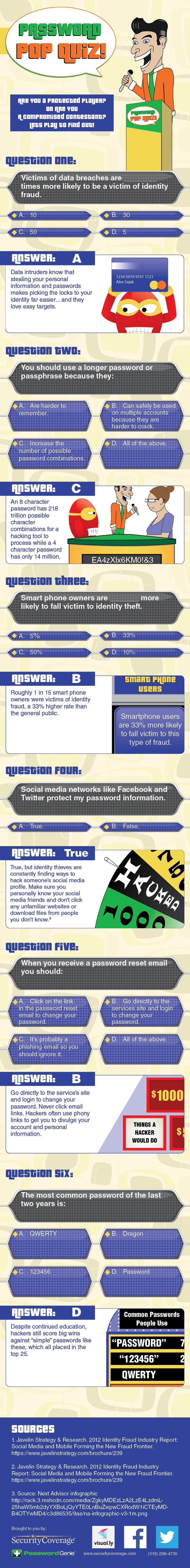 Password Pop Quiz