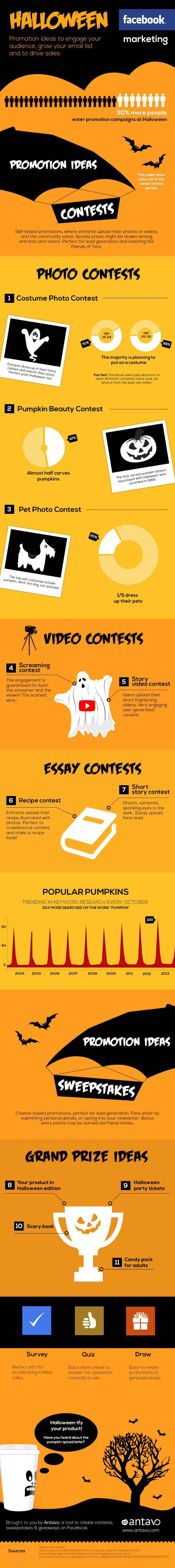 Halloween Facebook Contest Ideas