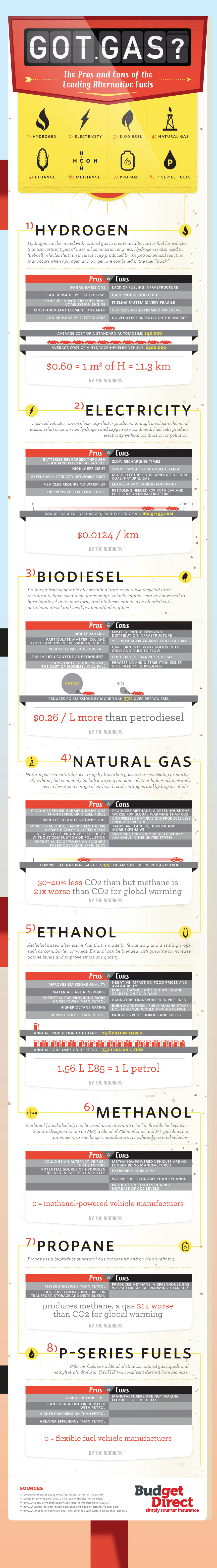 Got Gas? Pros and Cons of Leading Alternative Fuels