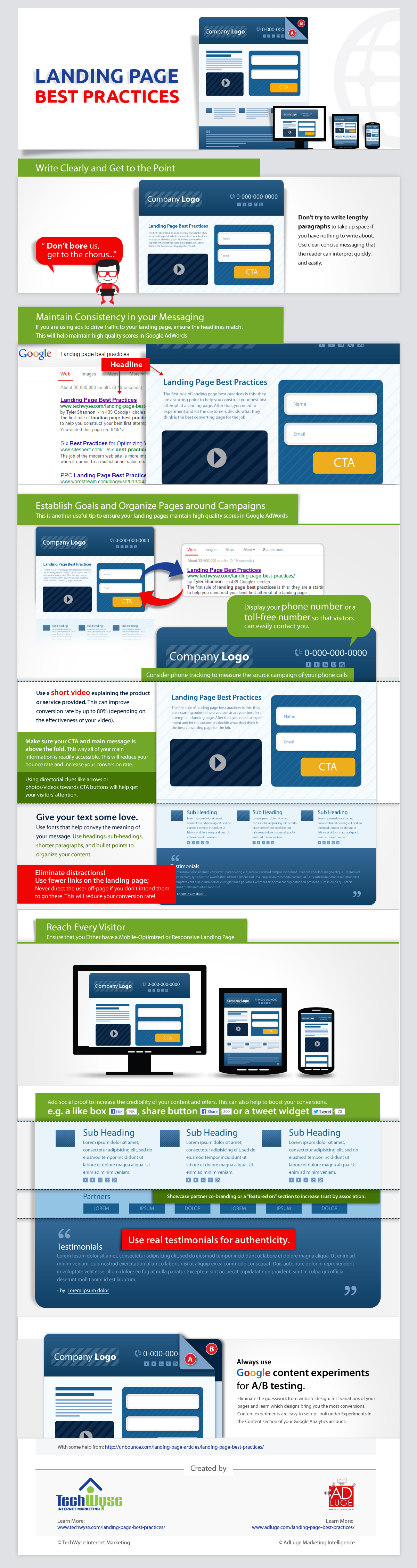 How to Design the Perfect Landing Page