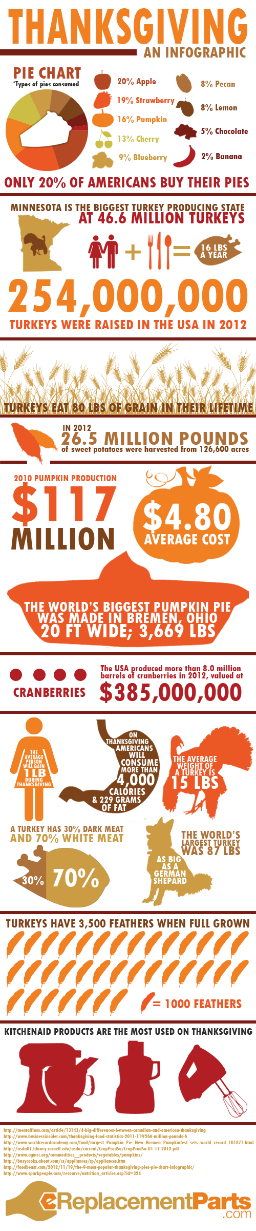Thanksgiving: An Infographic