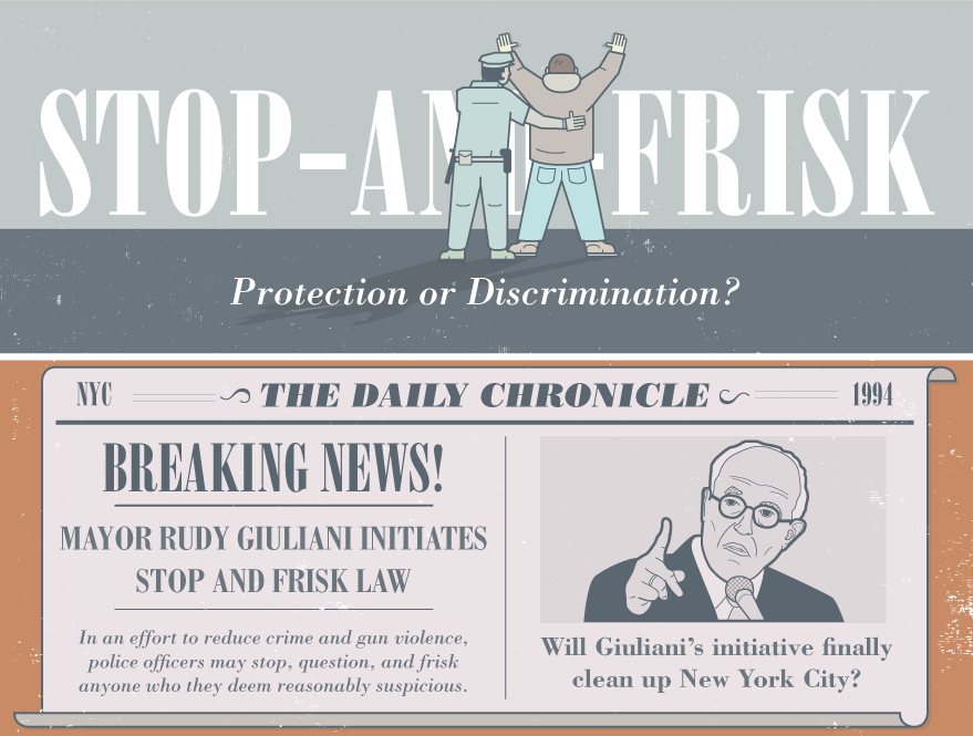 living in a stop and frisk world Stop and frisk is a term used to describe a police stop and pat down of someone officials consider suspicious the main reason i wanted to have this on the agenda is because i think how we're.