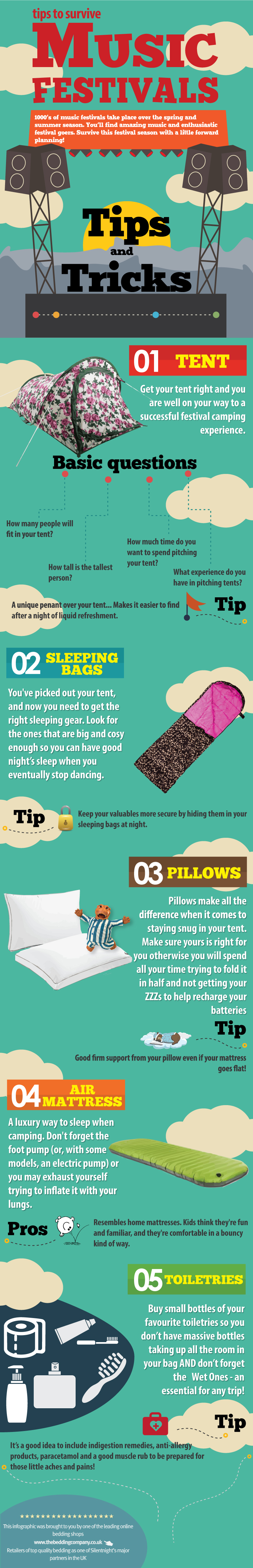 Tips To Survive Music Festivals