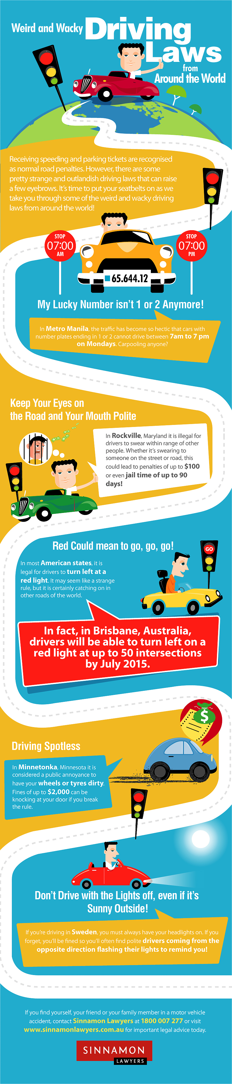 Weird and Wacky Road Rules From Around the World