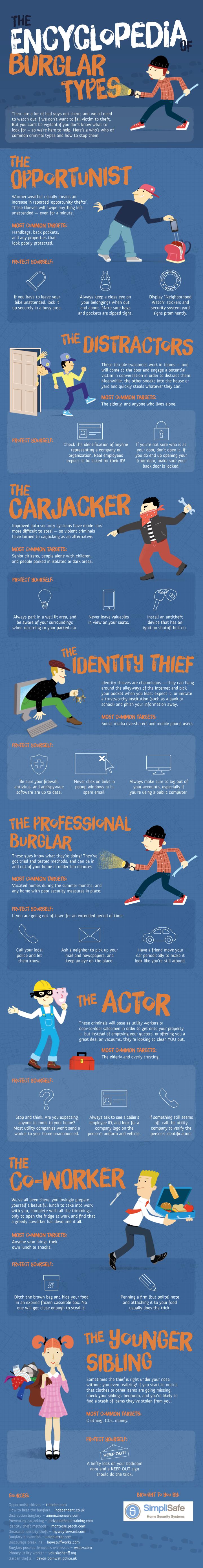 Burglars: The Encyclopedia of Burglar Types
