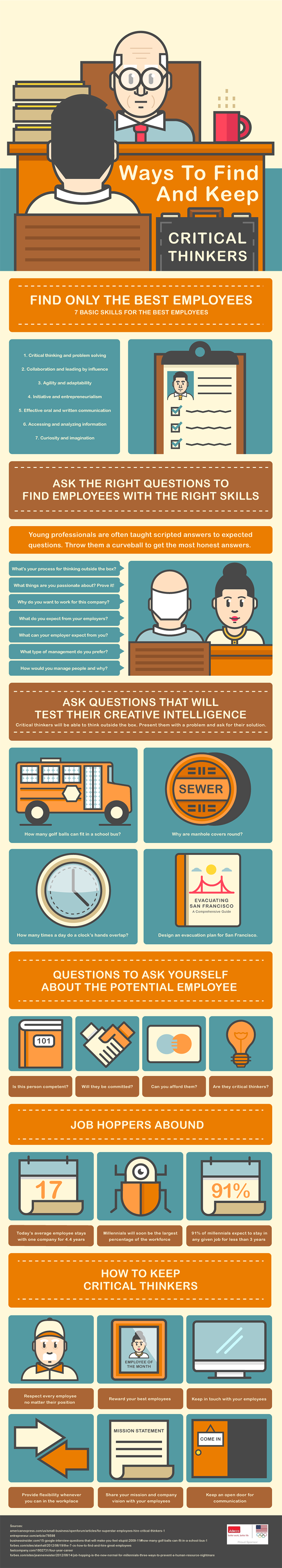 Ways To Find And Keep Critical Thinkers