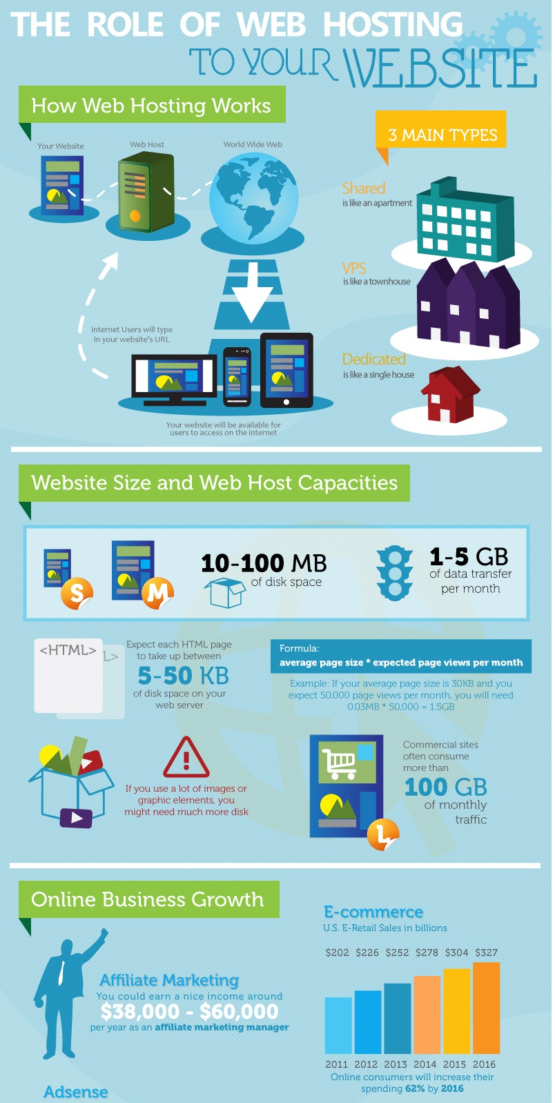 The Fast Growth of Web Hosting