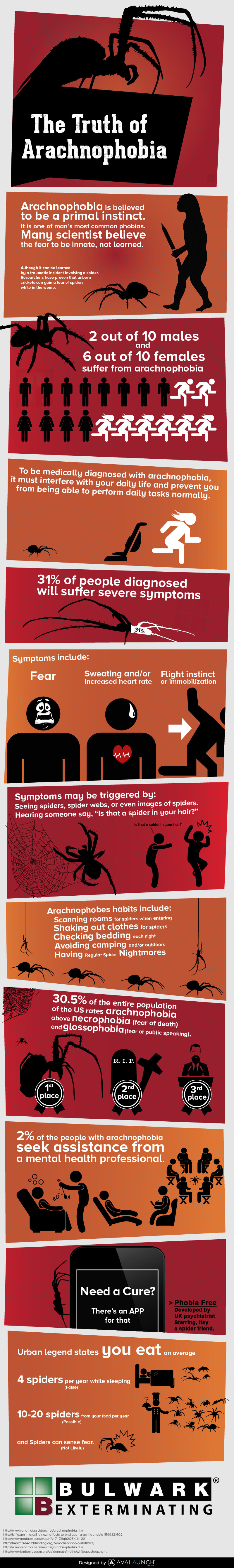 The Truth of Arachnophobia